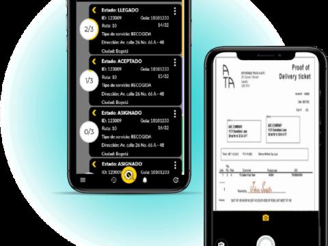 2 - Aplicación Móvil de Control SmartQuick TMS Transport Management System