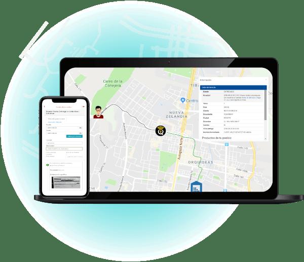 Seguimiento a tu pedido SmartQuick TMS Transport Management System