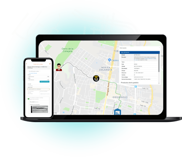 Seguimiento a tu pedido-TMS logística