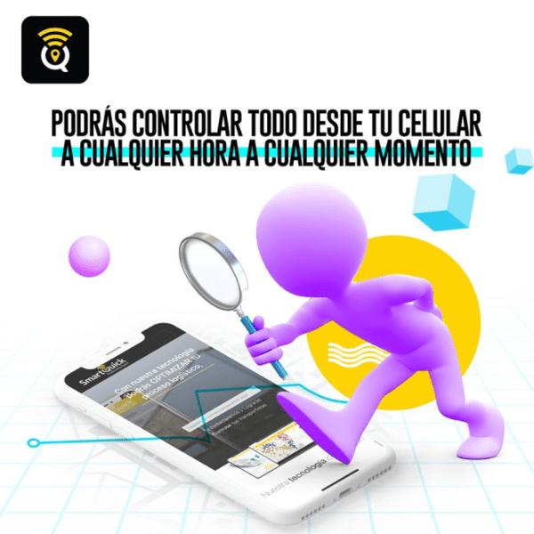 SmartQuick Podrás controla todo desde tu celular a cualquier hora y en cualquier momento