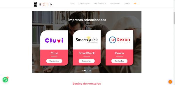 Empresas seleccionadas Bictia Smarquick