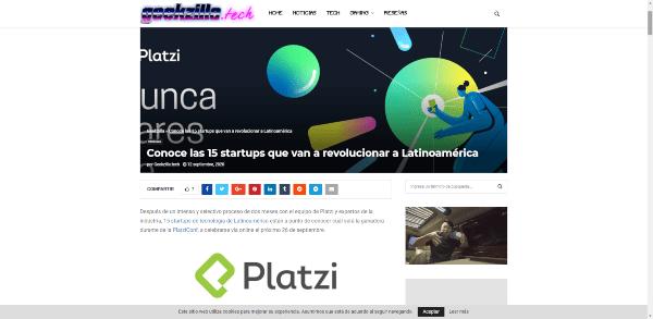 Geekzilla SmartQuick entre las 15 startups que van a revolucionar a Latinoamérica