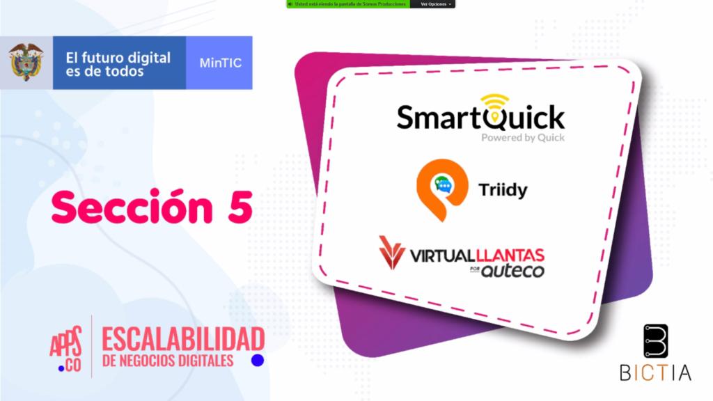 SmartQuick en MinTic Escalabilidad de Negocios Digitales