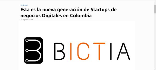 SmartQuick entre las 15 empresas seleccionadas por Bictia