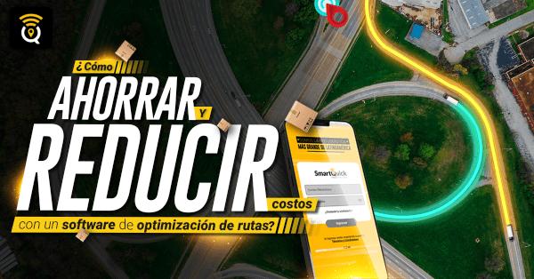 Reduce costos con un software de optimización de rutas
