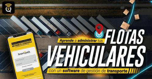Aprende a administrar tus flotas vehículares con un software de gestión de transporte